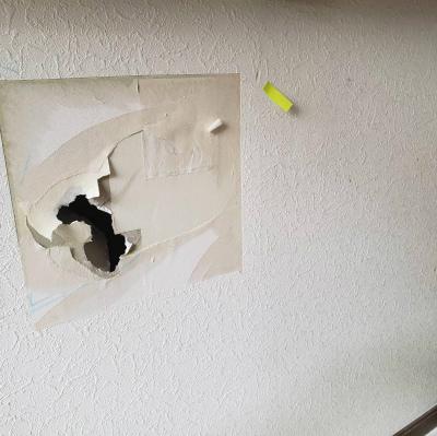 壁補修工事
